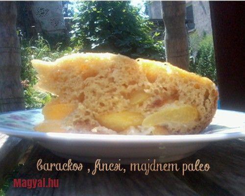 Gluténmentes barackos süti - Magyal.hu - glutenfree - recept - paleo - fogyókúra