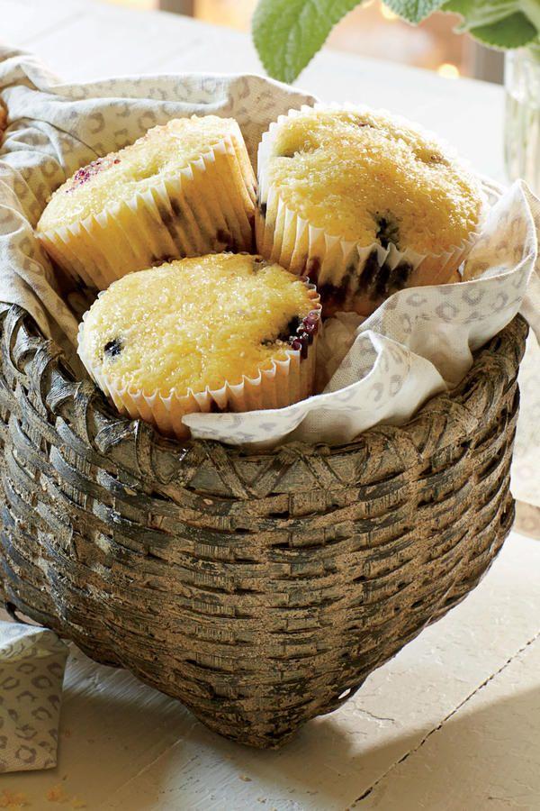 Fall Bread Recipes: Blueberry-Lemon Muffins