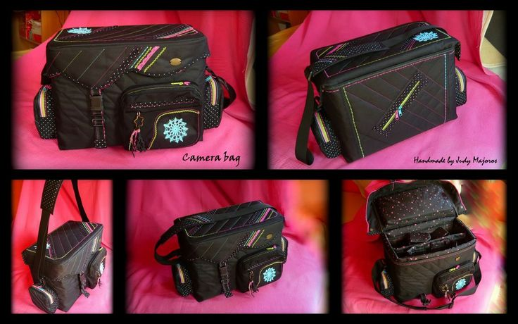 Camera bag - Handmade by Judy Majoros