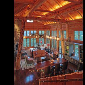 Colorado log home