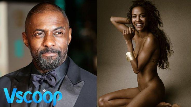 Zoe Saldana Wants Idris Elba To Take 007 Legacy Forward #VSCOOP