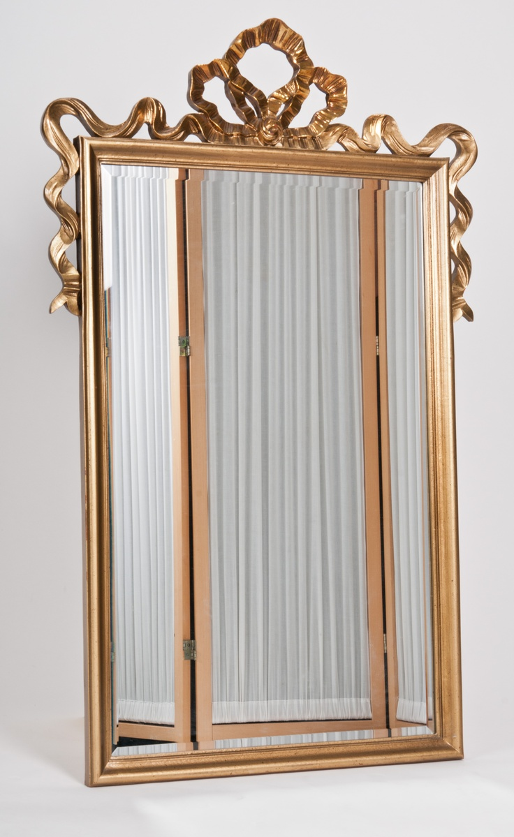 There are mirrors galore, from simple modern to lush ...