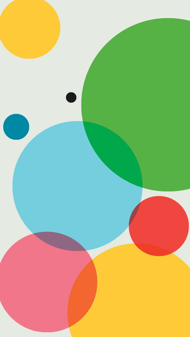 Free Colorful Geometric Wallpaper: TAP AND GET THE FREE APP! Colorful Shapes Round Geometric