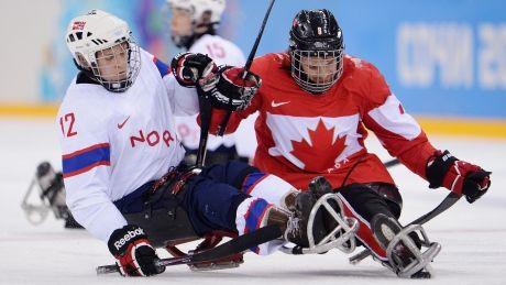 Canada routs Norway at para-hockey worlds