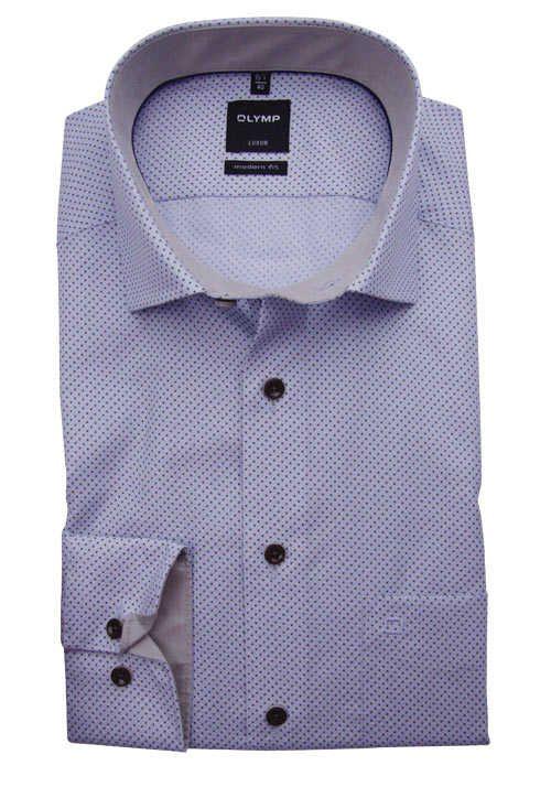 Olymp Bügelfreies modernes City Hemd, langarm