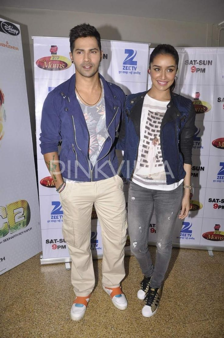 When Varun and Shraddha showed off their dance moves! | PINKVILLA