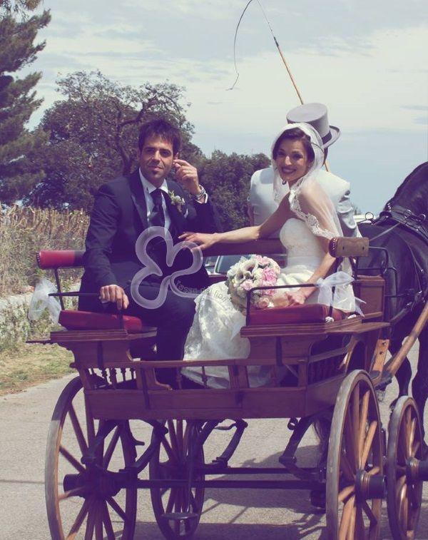 veicolo per gli sposi