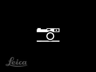 Leica pictogram by charlesriccardi - Graphic Design