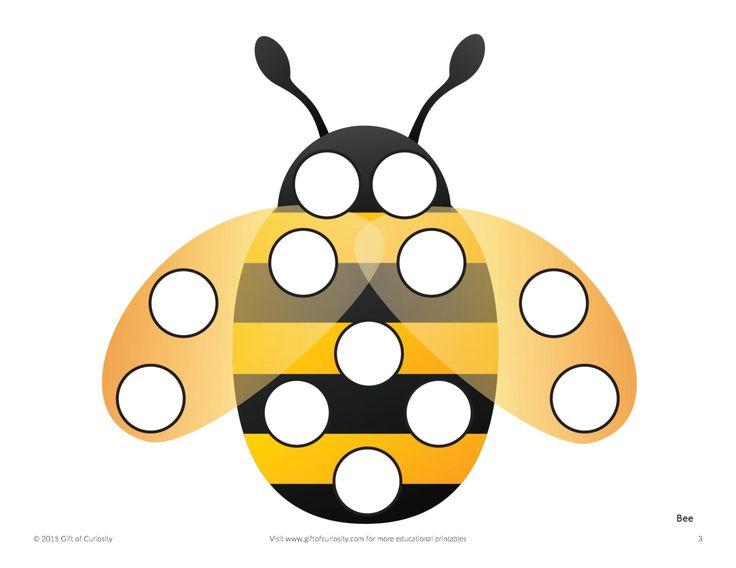 Приколото с сайта http://www.giftofcuriosity.com/insects-do-a-dot-printables-2/