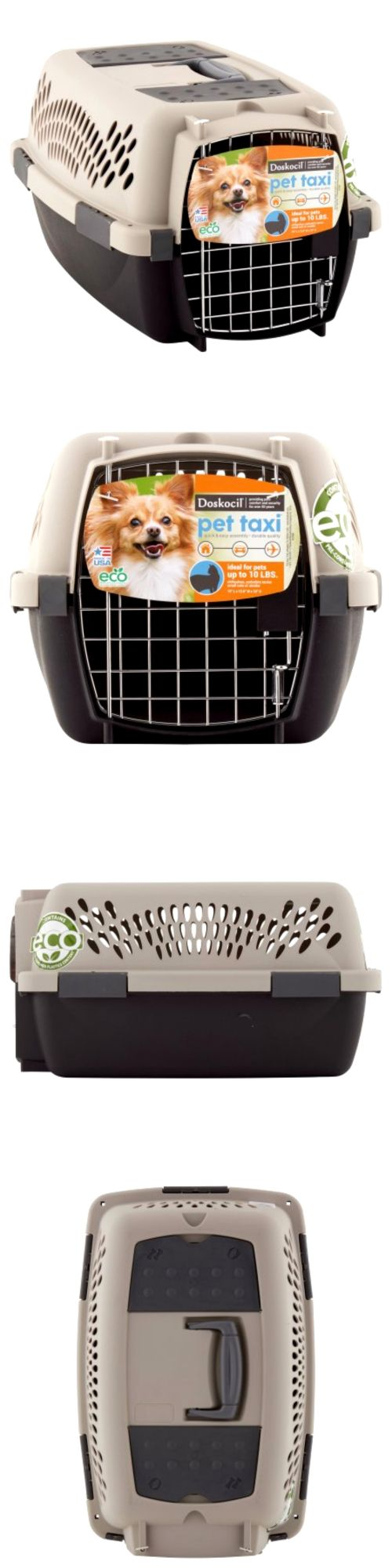 Carriers and Crates 26702: Small Dog Cat Puppy Carrier Kennel Transport Travel Cage 19 Pet Taxi Gray10lb -> BUY IT NOW ONLY: $32.34 on eBay!