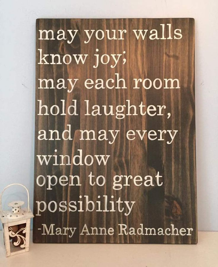 May your walls know joy quote Hang in your bedroom or family area, gorgeous wood farmhouse style sign by Oak & Elegance
