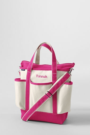 Canvas Diaper Bag from Lands' End