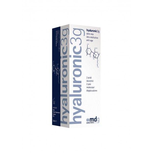 Siero Acido Ialuronico Puro: Hyaluronic3g | SHOP | Medical Derma Group