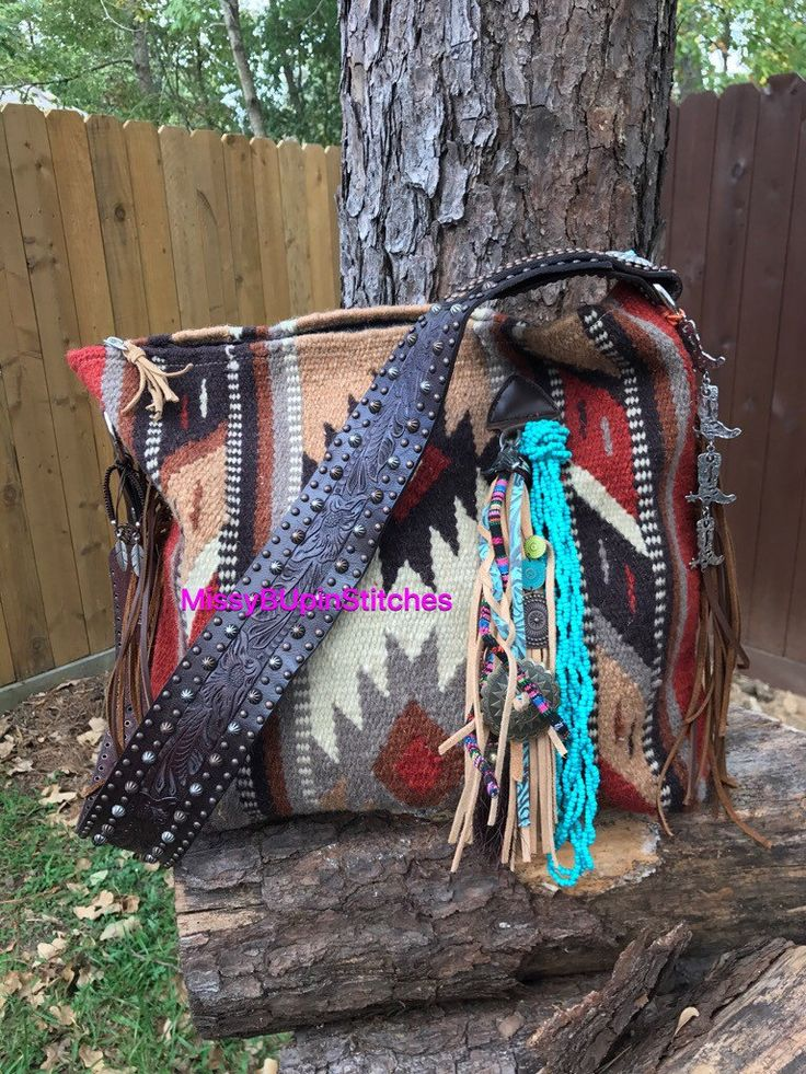 A personal favorite from my Etsy shop https://www.etsy.com/listing/472398364/saddle-blanket-purse