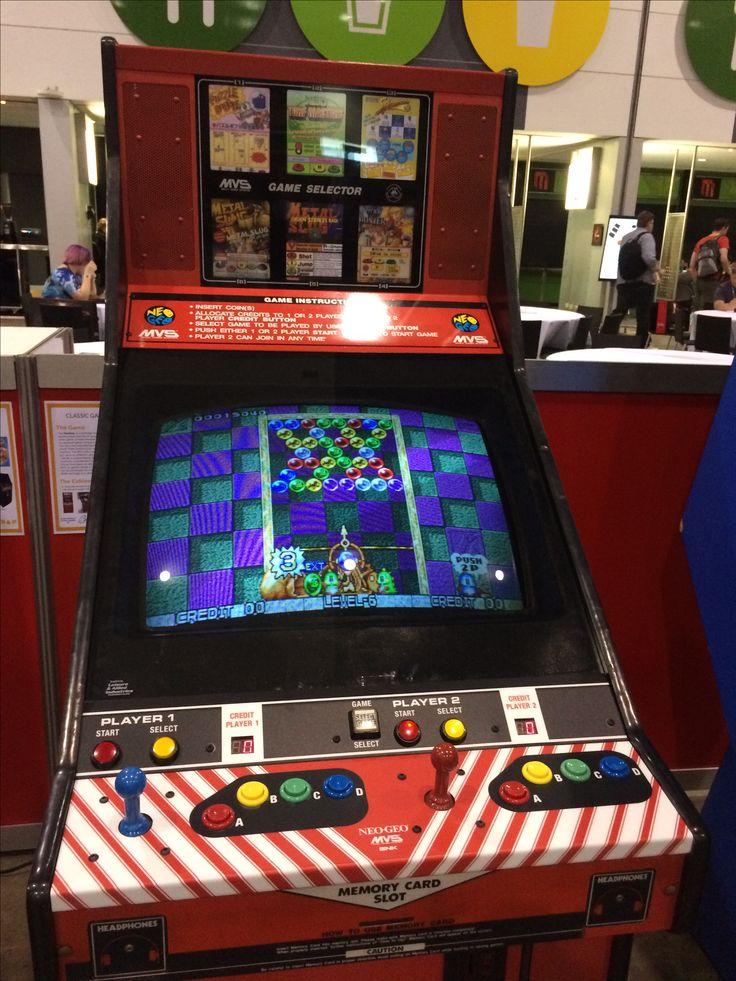 Pax Aus 2016 Retro Puzzle Bobble Arcade Machine
