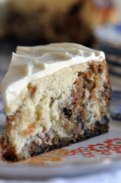 Copycat Recipe...Cheesecake Factory Carrot Cake Cheesecake