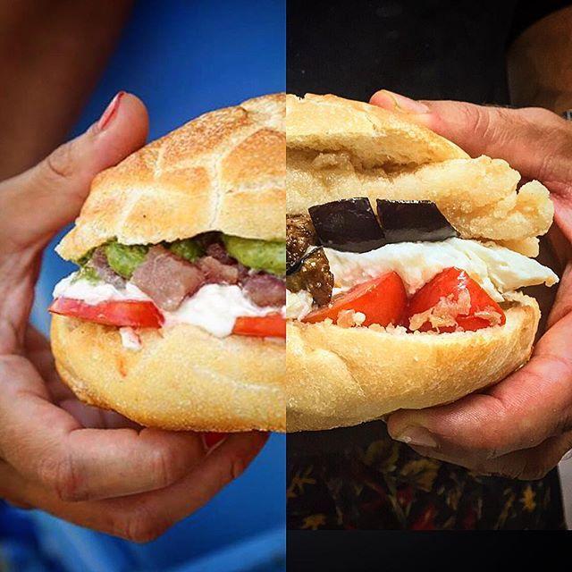 Panino al tonno o panino del giorno? Chi lascia la strada vecchia per la nuova ha trovato Pescaria! #puglia #fishburger #fishbar #fish #luciomele #tuna #fresh #polignano #bari #panino #luciomele #Pescaria #streetfood #foodporn #food by domingoiudice