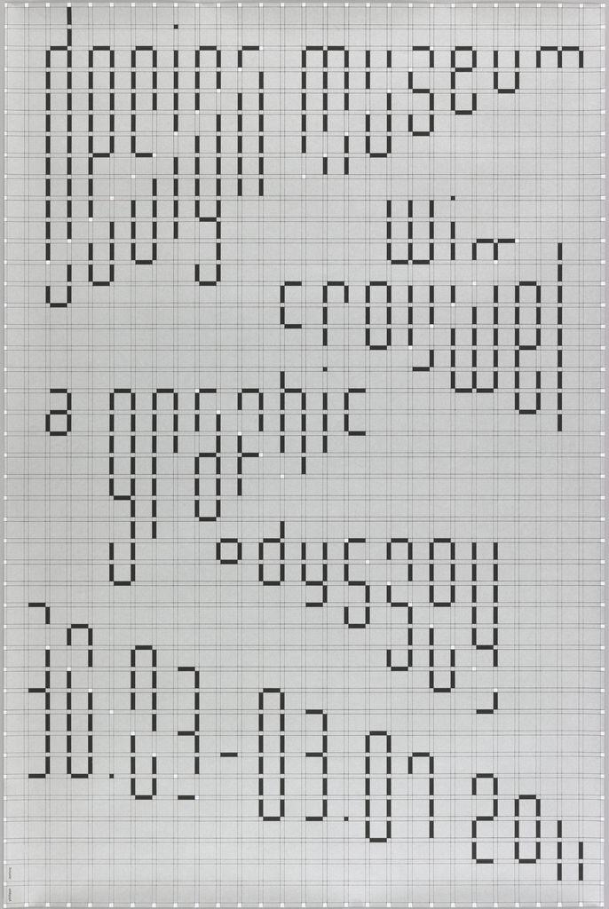 Wim Crouwel – A graphic odyssey