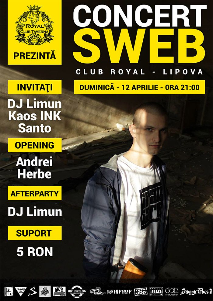 Concert Sweb @ Royal Club Lipova