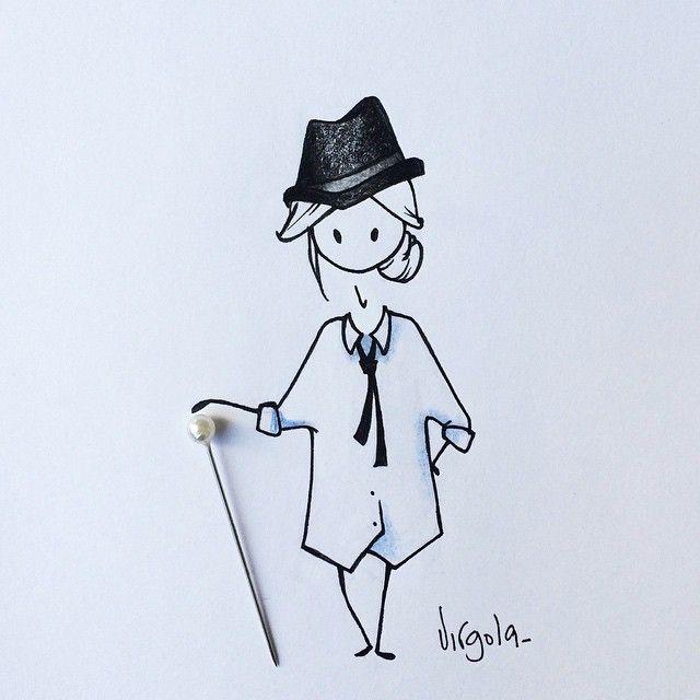 Virgola by Virginia Di Giorgio SnapWidget   Comme des garçons #virginiasdraws