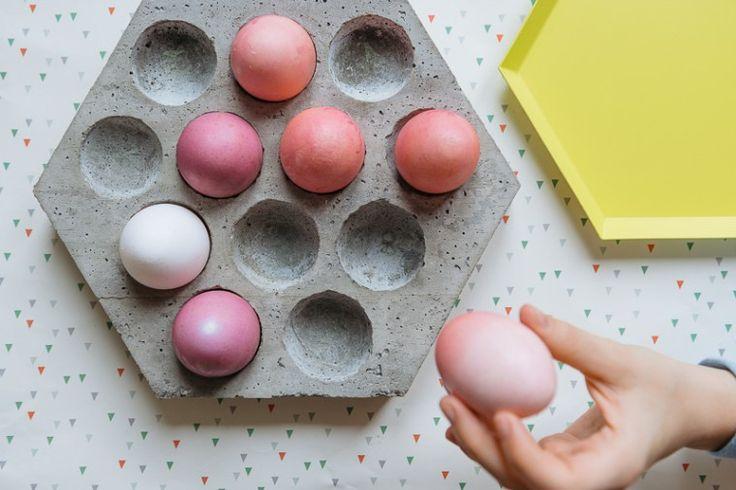 Best 25 concrete crafts ideas on pinterest concrete Egg tray craft ideas