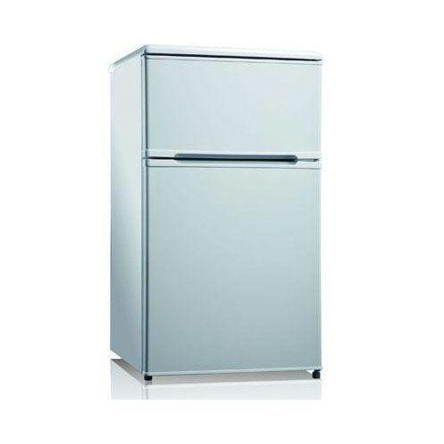 Midea College Fridge with Freezer - 3.1 Cu Ft - Stainless Steel
