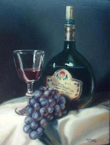 77 best images about art still life on pinterest for How to paint glass with oil paint