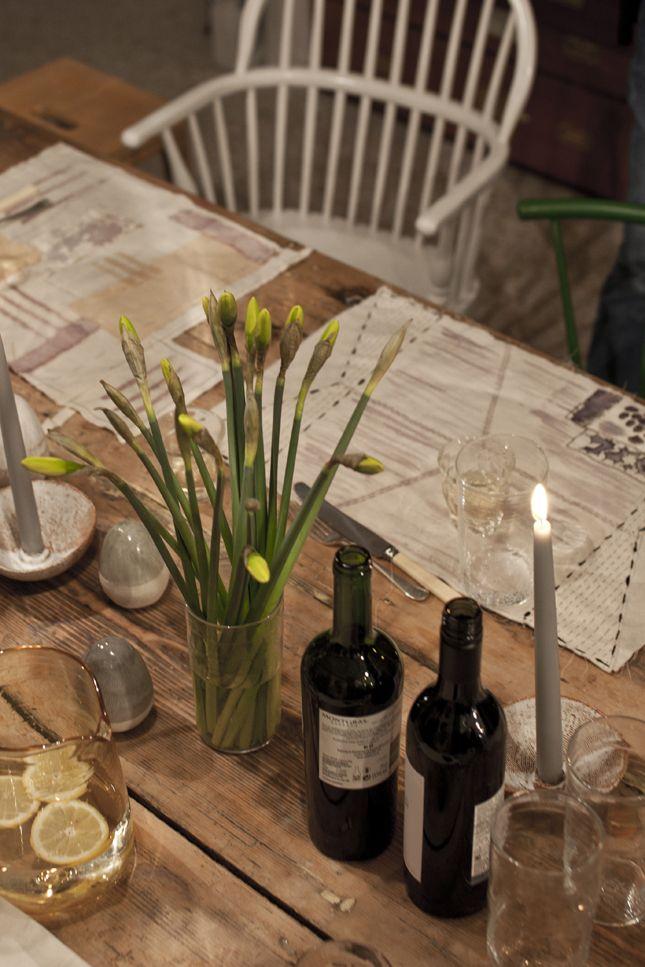 Dinner at The New Craftsmen, photo Linda Elmin
