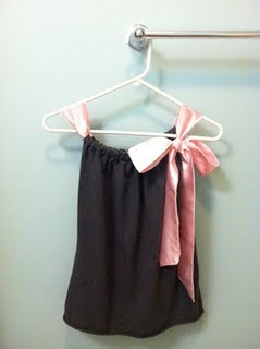 So cute. Made from an old t-shirt and ribbon. @Karen Jacot Jacot Jacots Floral A