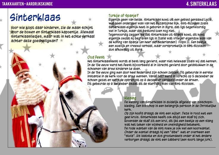 Taakkaarten Sinterklaas