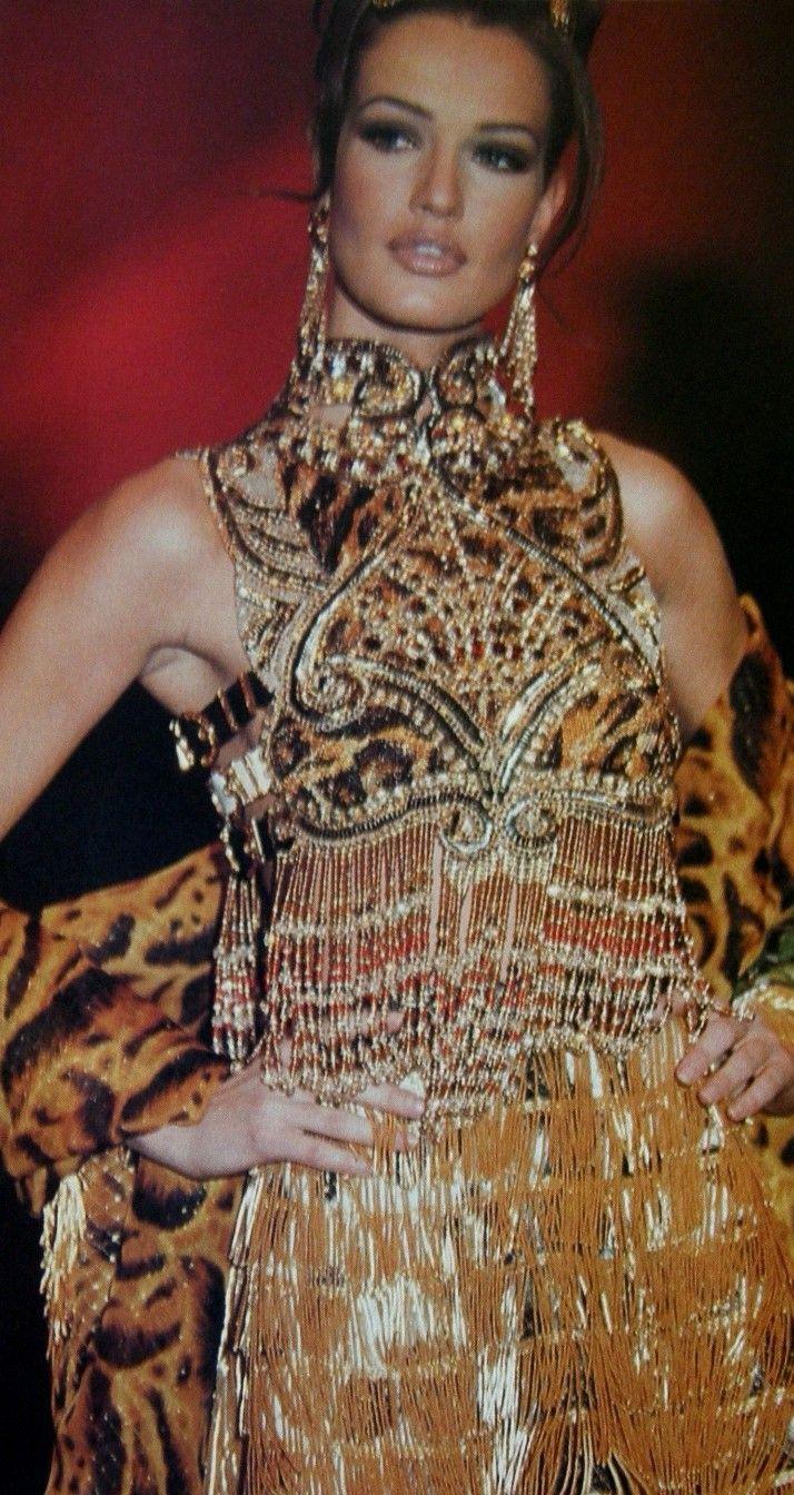 Karen Mulder: Gianni Versace                                                                                                                                                                                 More