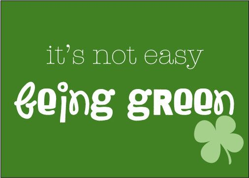 it's not easy being green printable