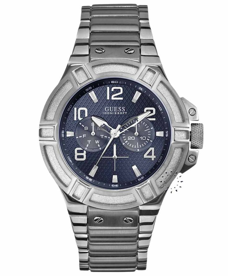 GUESS Men's Multifunction Stainless Steel Bracelet Τιμή: 169€ http://www.oroloi.gr/product_info.php?products_id=35140