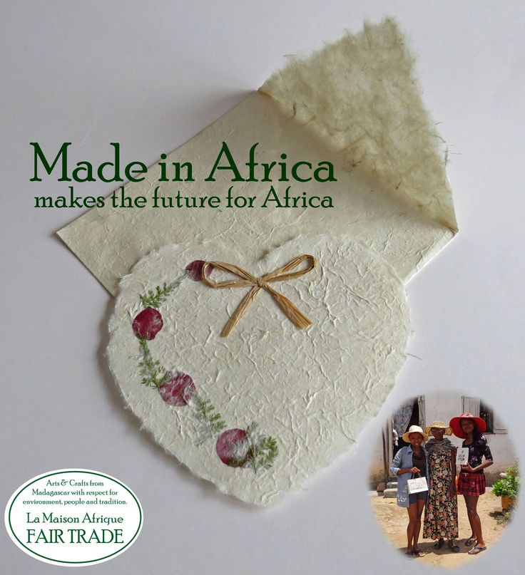 Made in Africa  makes the future for Africa. La Maison Afrique FAIR TRADE - here you (only) find value added products from Africa. #africa #madeinafrica #fairtrade