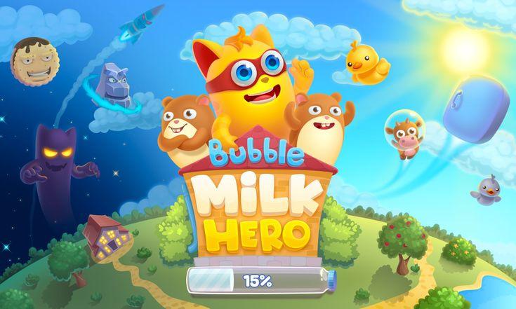 Bubble Milk Hero on Behance