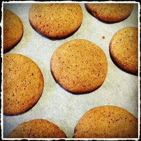 gingerbread cookies to make in the Thermomix. With rice malt.