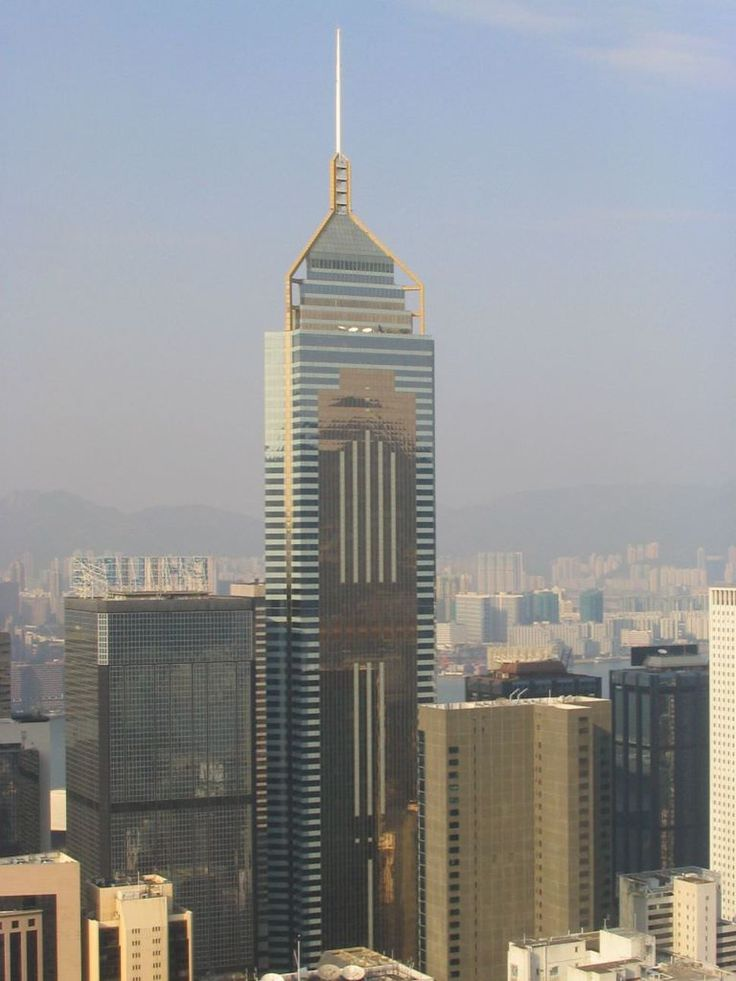 25. Central Plaza in Hong Kong 1227 ft