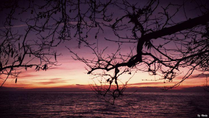 https://flic.kr/p/rQ2Jbn | Greece,sunset | Greece colorful sunset,Nea Skioni