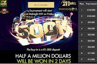 $500K 2-Days Tournament at 8 Top Game Casinos