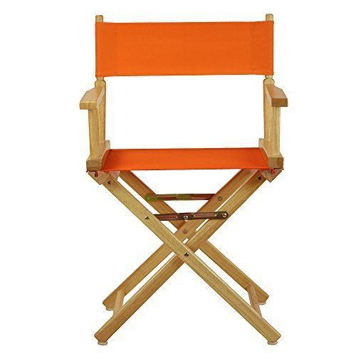 Discover a variety of uses for this classic-style Director's Chair. Constructed with 100% solid wood, this portable Director's Chair is built for lasting strength. Foldable design makes transportation and storage a breeze–meaning you can move it from room to room or transport it for s... more details available at https://furniture.bestselleroutlets.com/game-recreation-room-furniture/directors-chairs/product-review-for-casual-home-18-directors-chair-natural-frame-