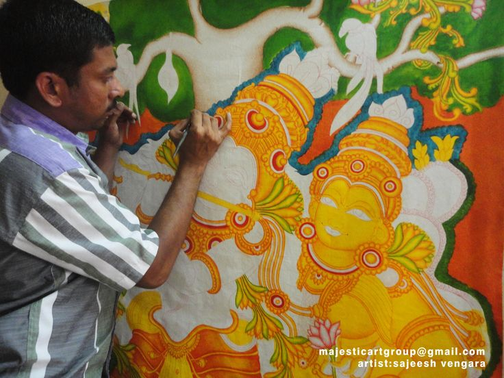 857 best murals images on pinterest for Mural kerala