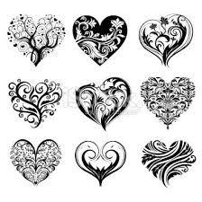 tatouage coeur arabesque - Recherche Google
