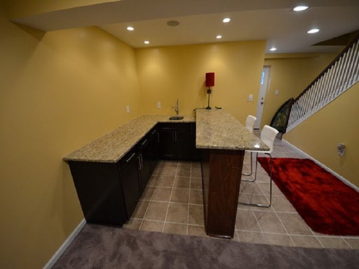 Basement Wet Bar Designs Which Beautify Your House : Traditional Basement  Wet Bar Designs With Basic
