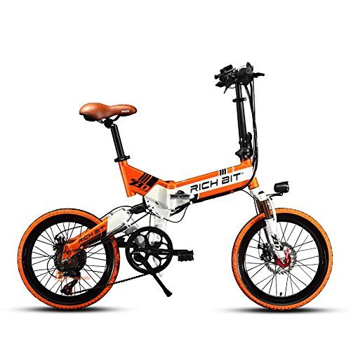 Cyrusher TP730 20 inch Foldable Electric Bike Folding Ebike 7 Speed Full Suspension 48V 250W Battery
