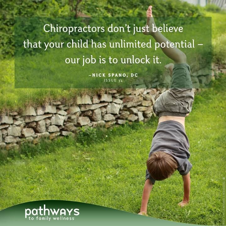 Designed For Hope: How Chiropractic Honors the Health Already Within Your Child by Nick Spano, DC in Pathways to Family Wellness issue # 34