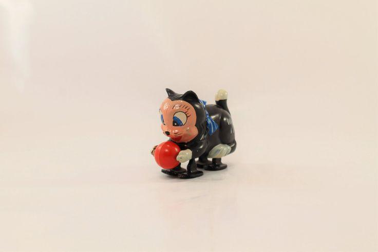 Figaro Cat Toy, Felix the Cat, Walt Disney Figaro Cat by ClockworkRummage on…