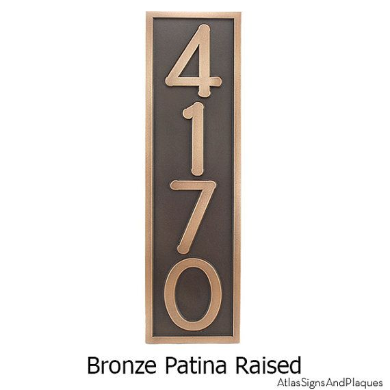 7 best copper mailboxes images on pinterest copper for Bungalow house numbers