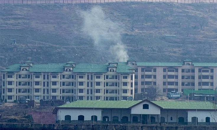 Militants storm Indian paramilitary camp in IHK; 4 soldiers killed