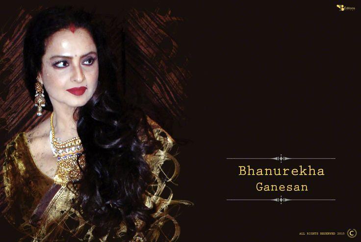 Theme : Bhanurekha Ganesan 2015,Designed By : Sanchari Bhattacharya Exclusively