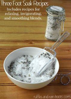 Lavender-Foot-Soak-Recipe Foot Soak Recipes
